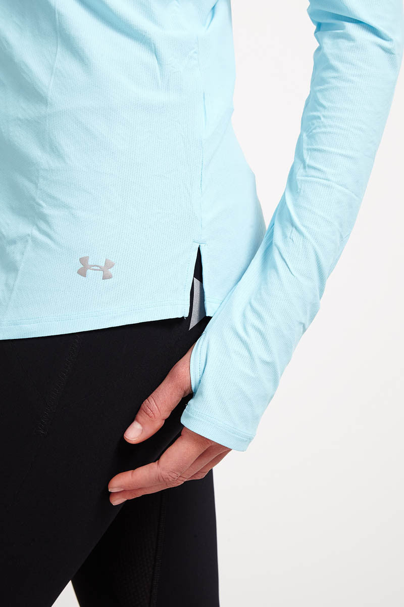 Under Armour Coolswitch Run Long Sleeve - Sky Blue image 4