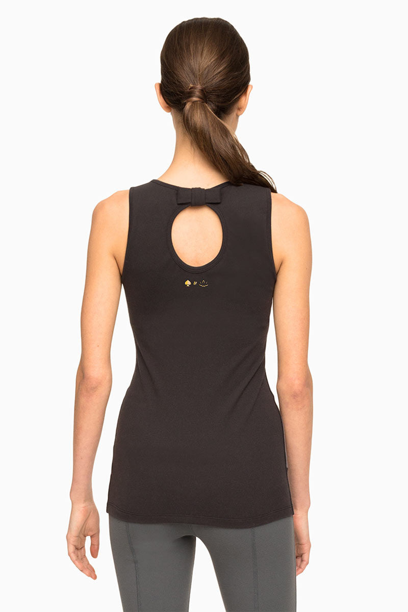 Beyond Yoga x Kate Spade New York Banded Tank Cream/Black image 3 - The Sports Edit