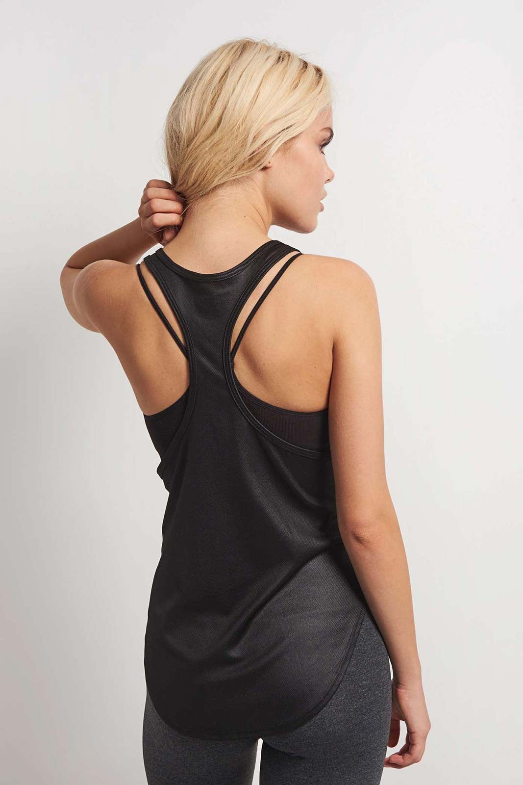 Splits59 Echo Tank Black image 2 - The Sports Edit