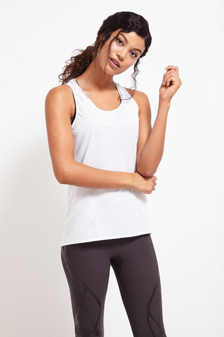 ADIDAS Supernova Tank - White image 1 - The Sports Edit