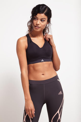 ADIDAS Supernova X Bra - Black image 1 - The Sports Edit