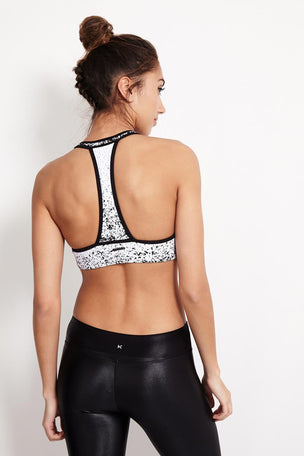 Koral Submerge Sports Bra - Pixellate image 2 - The Sports Edit