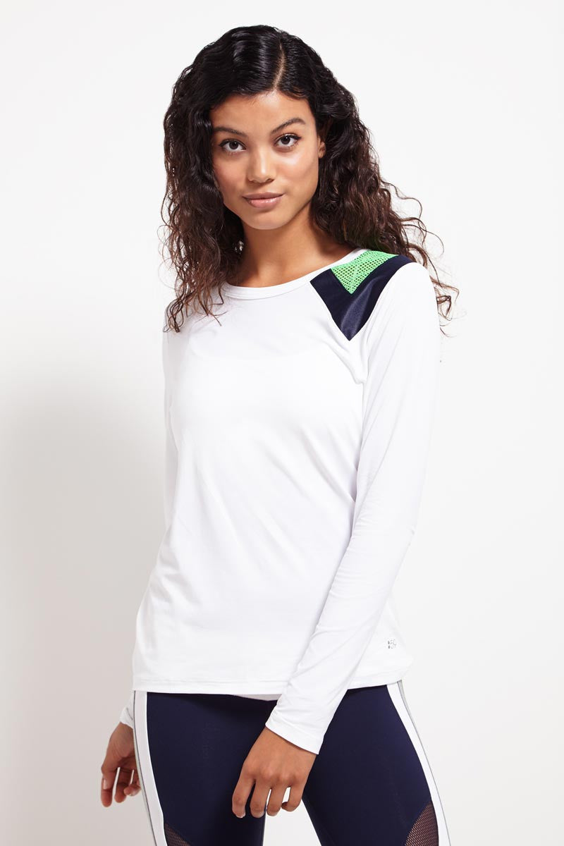 Splits59 Arden Longsleeve Performance Run Tee image 1 - The Sports Edit