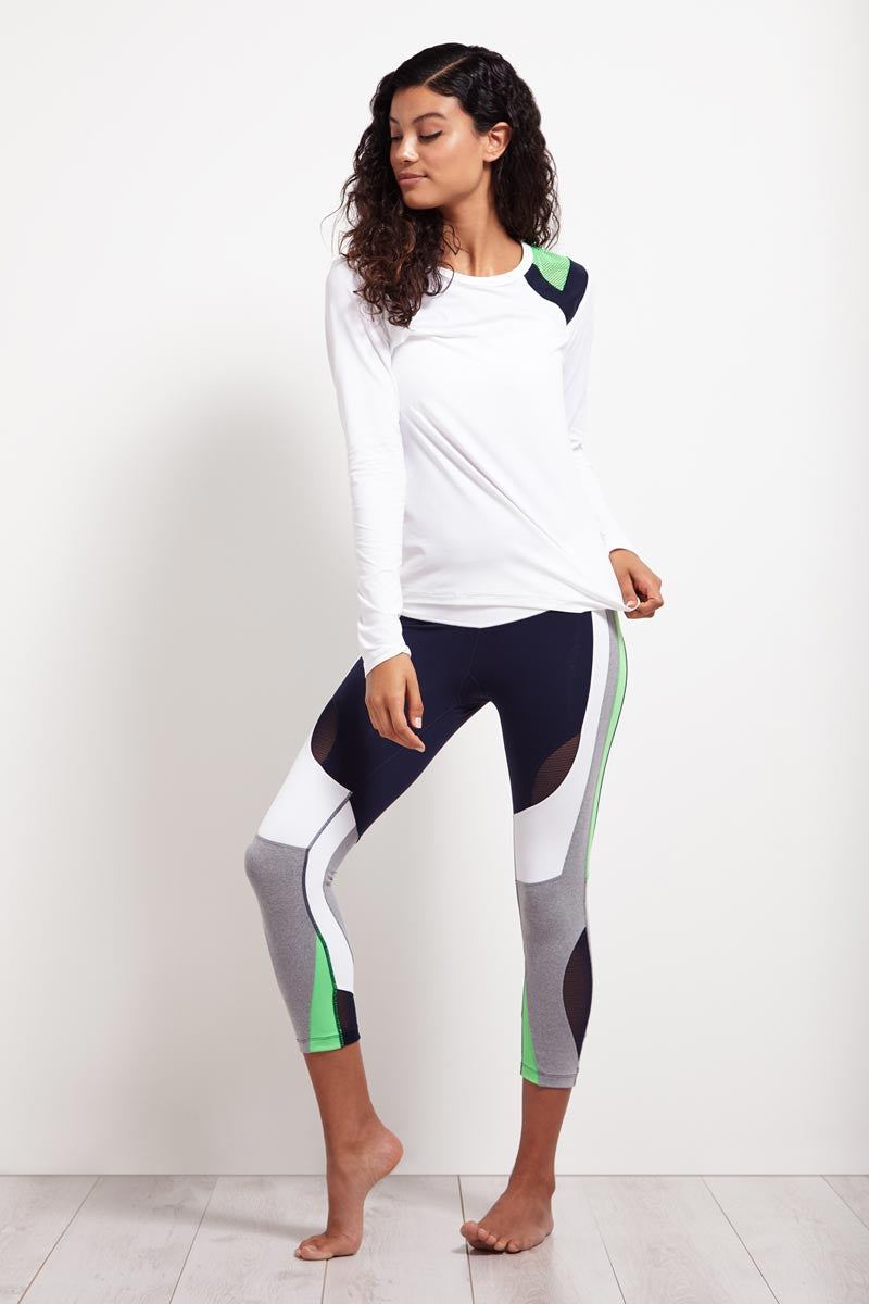 Splits59 Arden Longsleeve Performance Run Tee image 4 - The Sports Edit