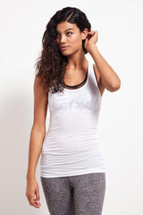Splits59 Ashby Rib Racerback Tank White image 1 - The Sports Edit