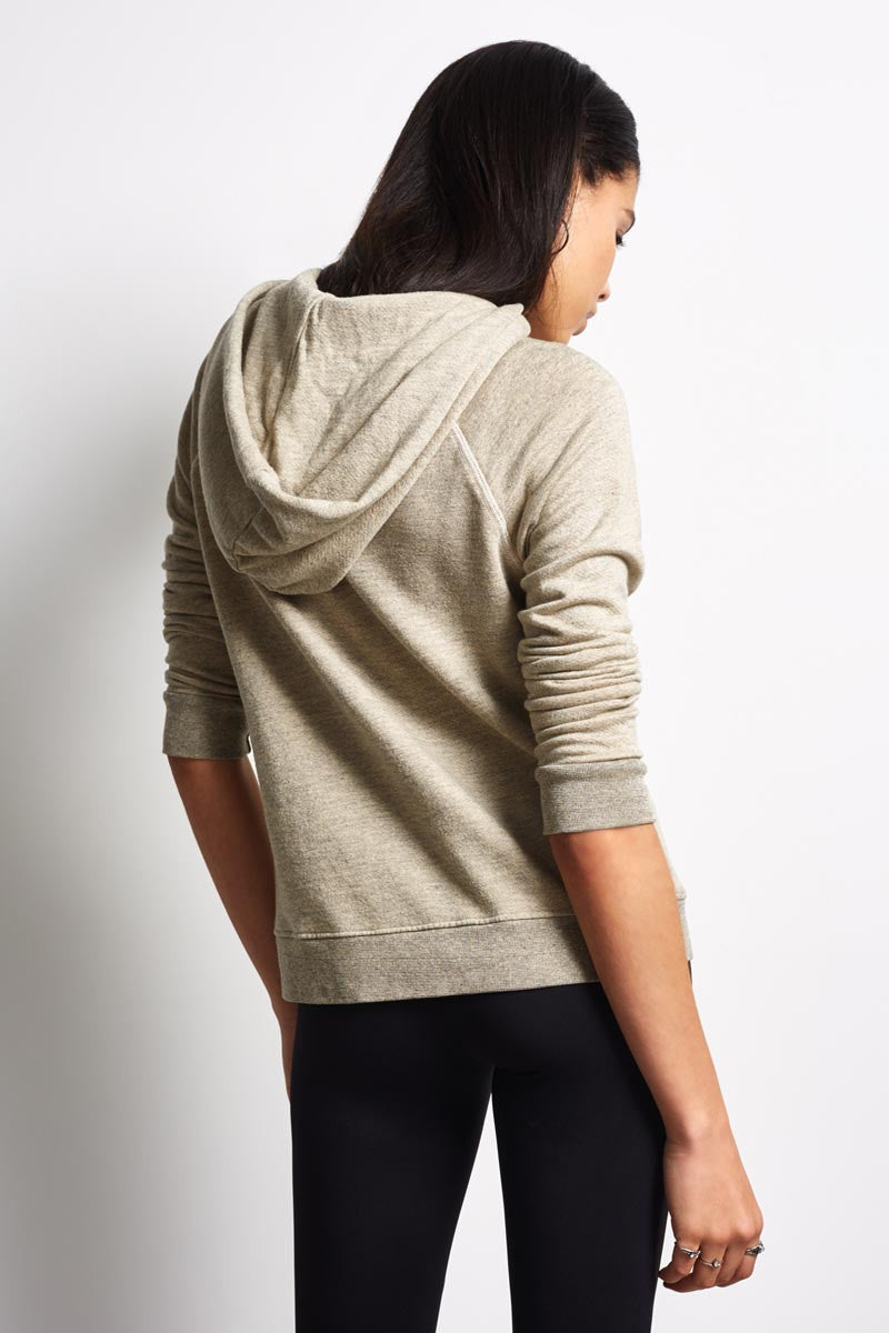 Sundry Army of Lovers Pullover Hoodie - Heather Oatmeal image 2 - The Sports Edit