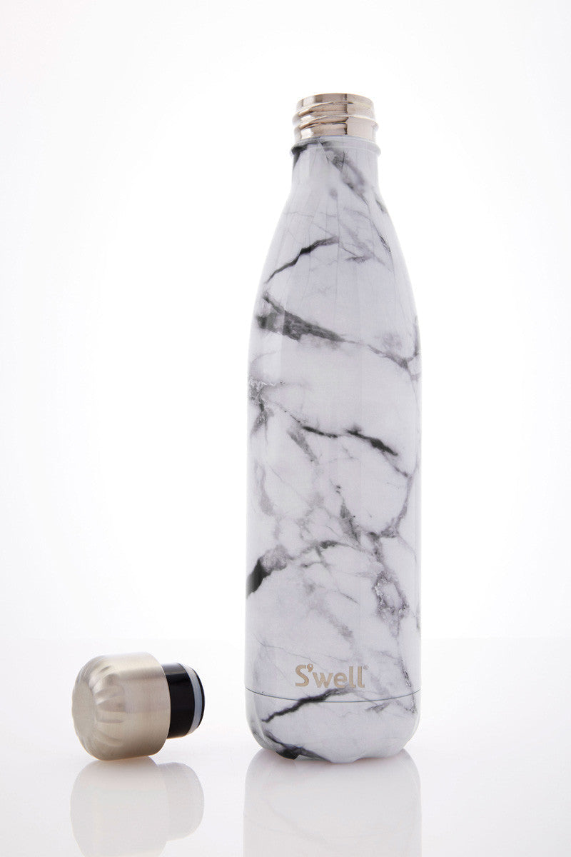 S'Well S'well Bottle White Marble 750ml image 1