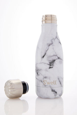 S'Well S'Well Bottle White Marble 260ml image 2 - The Sports Edit