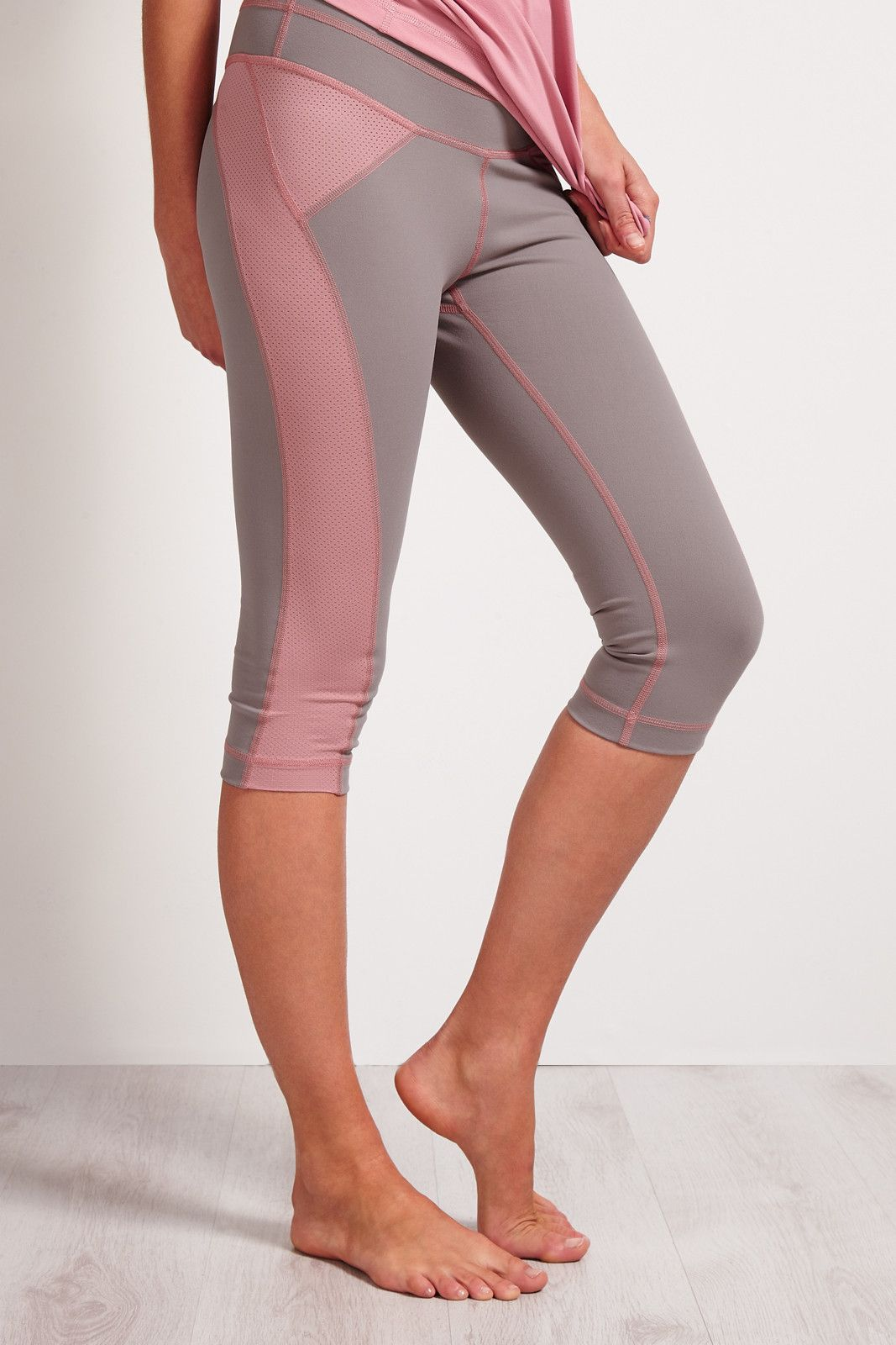 SALT Arc Yoga Capri Zinc image 1 - The Sports Edit
