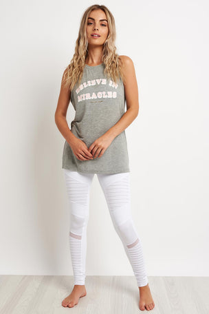 Spiritual Gangster Believe Miracles Chakra Tank image 2 - The Sports Edit