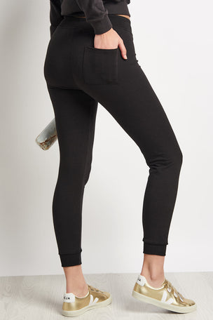 Spiritual Gangster Moon Muse Pant - Vintage Black image 2 - The Sports Edit