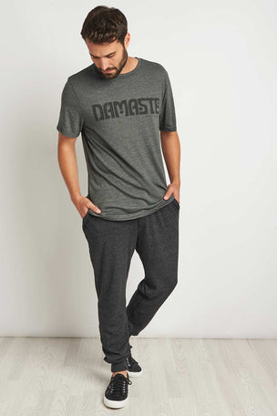 Spiritual Gangster Varsity Men's Jogger image 4 - The Sports Edit