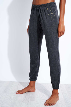Spiritual Gangster Stars Perfect Sweatpant - Vintage Black image 1 - The Sports Edit