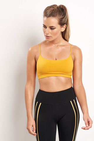 Splits59 Loren Seamless Bra - Marigold image 1 - The Sports Edit