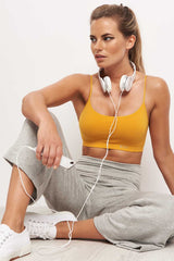 Splits59 Runway Culotte Sweat Grey image 3 - The Sports Edit