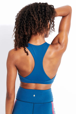 Spiritual Gangster Reana Sports Bra - Caribbean image 3 - The Sports Edit