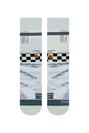 Stance Mission Space Crew - Off White image 3 - The Sports Edit