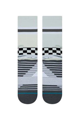 Stance Mission Space Crew - Off White image 2 - The Sports Edit