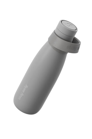 Stay Sixty Stainless Steel Water Bottle - Stone | 500ml image 2 - The Sports Edit