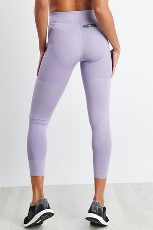 adidas X Stella McCartney FitSense+ Training Tights - Lilac image 3 - The Sports Edit