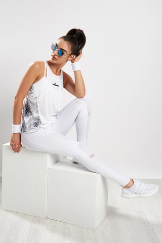 adidas X Stella McCartney Run ADZ Tank White image 1
