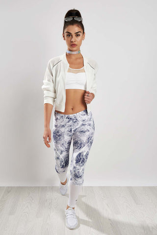 adidas X Stella McCartney Run Sprintweb Tight White/Noble Ink image 1