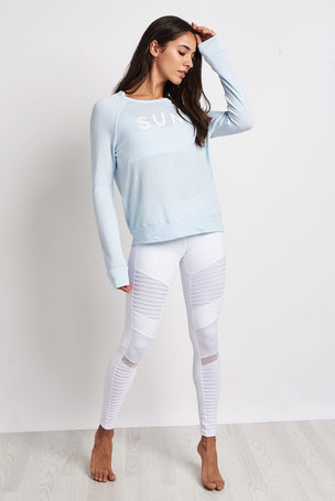 Sundry Sun Rise Cropped Pullover image 4 - The Sports Edit