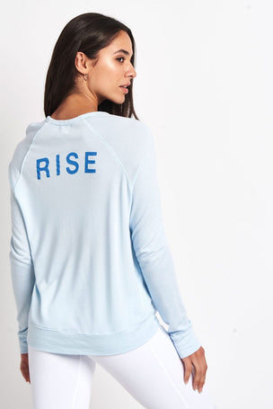 Sundry Sun Rise Cropped Pullover image 2 - The Sports Edit