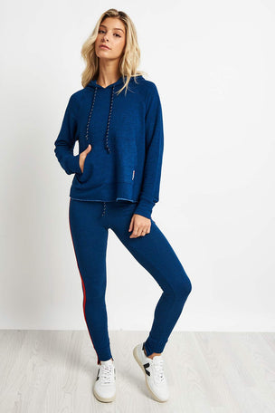 Sundry Patch + Love Crop Hoodie image 4 - The Sports Edit