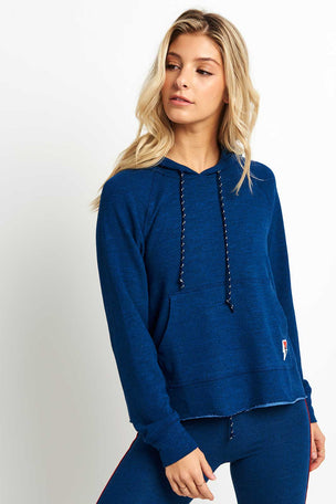 Sundry Patch + Love Crop Hoodie image 1 - The Sports Edit
