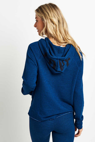 Sundry Patch + Love Crop Hoodie image 2 - The Sports Edit