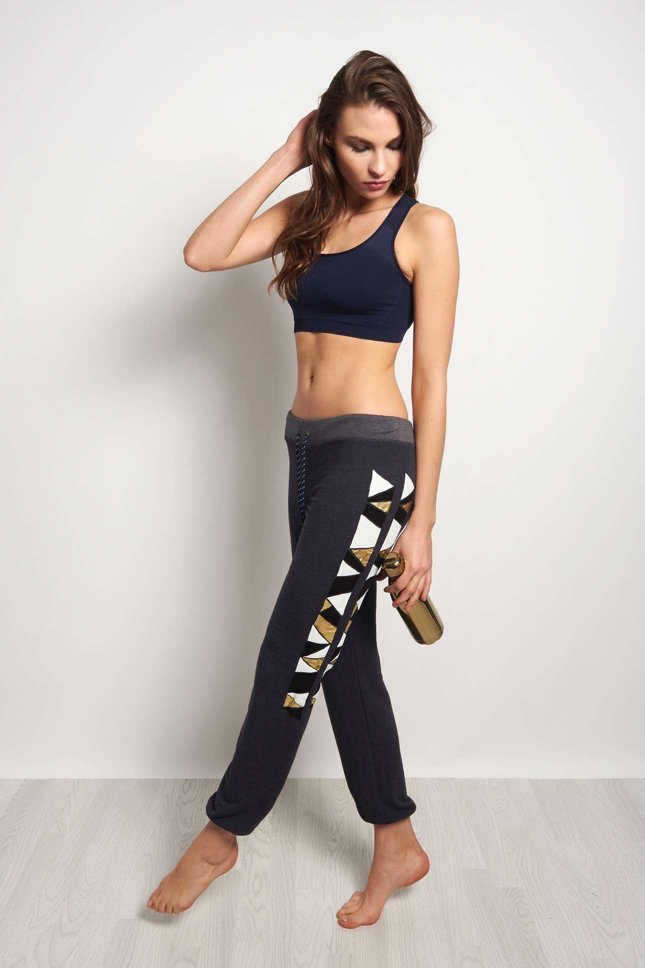 Sundry Triangles Active Sweatpant image 4 - The Sports Edit