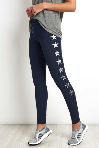 Sundry Stars Skinny Sweatpants image 1 - The Sports Edit