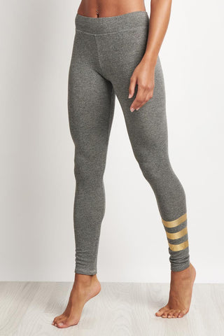 Sundry Foil Stripes Yoga Pant image 1 - The Sports Edit