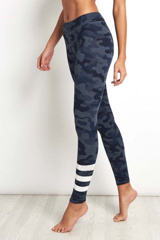 Sundry Striped Camo Yoga Pant image 1 - The Sports Edit