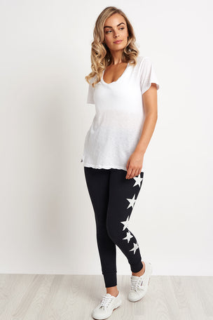 Sundry Stay Chic Tee - White image 4 - The Sports Edit