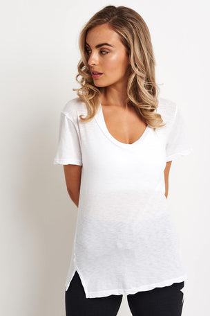 Sundry Stay Chic Tee - White image 1 - The Sports Edit