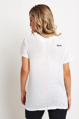 Sundry Stay Chic Tee - White image 2 - The Sports Edit