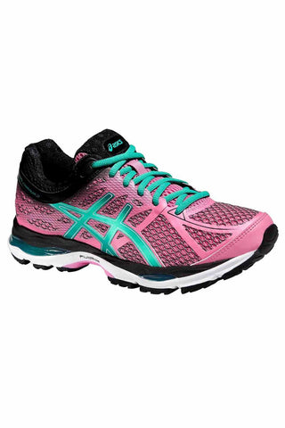 ASICS Gel Cumulus 17 W - Flamingo/Peacock image 1 - The Sports Edit