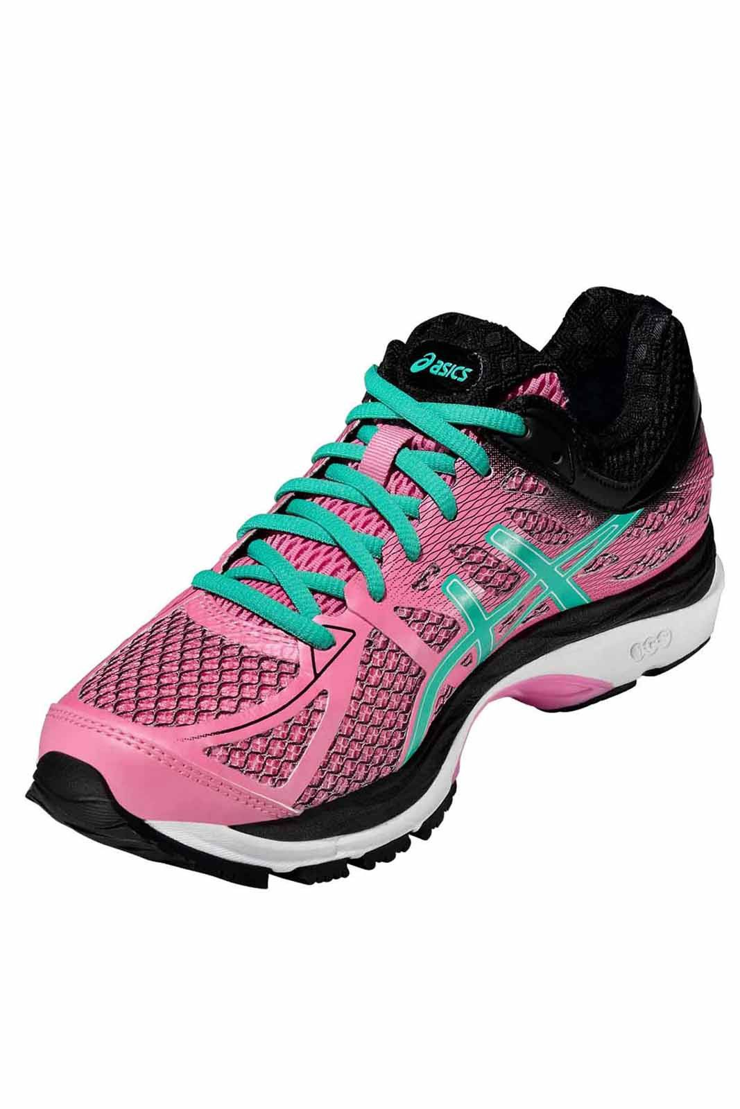 ASICS Gel Cumulus 17 W - Flamingo/Peacock image 5 - The Sports Edit