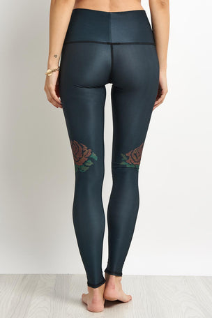 Teeki Gypsy Rose Hot Pant - Black image 2 - The Sports Edit