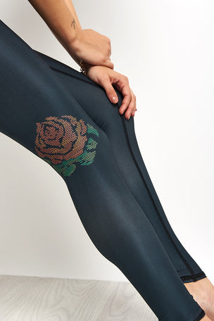 Teeki Gypsy Rose Hot Pant - Black image 3 - The Sports Edit