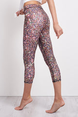 Terez Multi Glitter Leggings image 3