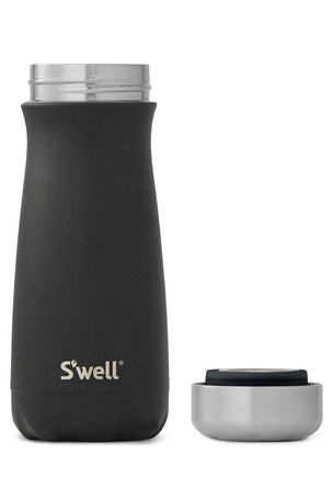 S'Well Black Onyx Traveller | 470ml image 2 - The Sports Edit