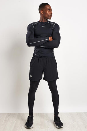 Under Armour UA ColdGear® Armour Compression Crew Black image 4 - The Sports Edit
