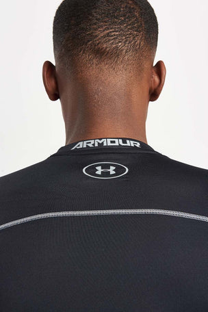 Under Armour UA ColdGear Armour Compression Crew T-Shirt Black image 3 - The Sports Edit