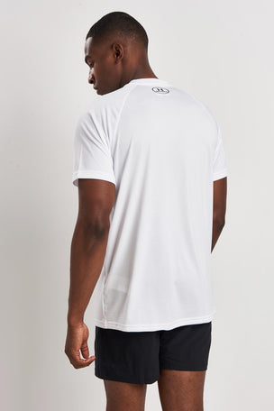 Under Armour UA Tech 2.0 Short Sleeve T-Shirt White image 2 - The Sports Edit