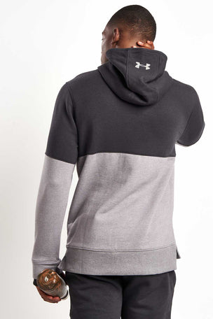 Under Armour Threadborne Hoodie-Black/Grey image 2 - The Sports Edit
