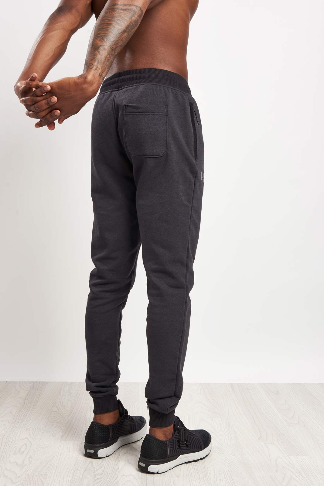 Under Armour Threadborne Stacked Jogger-Grey image 2 - The Sports Edit