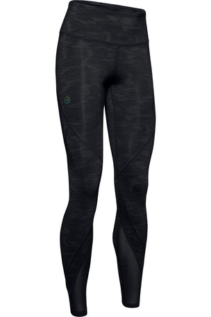 Under Armour Rush Leggings Metallic Print - Black image 6 - The Sports Edit
